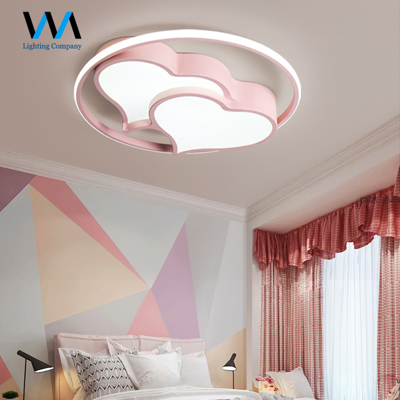 China Surface Pink Blue Light Fixture
