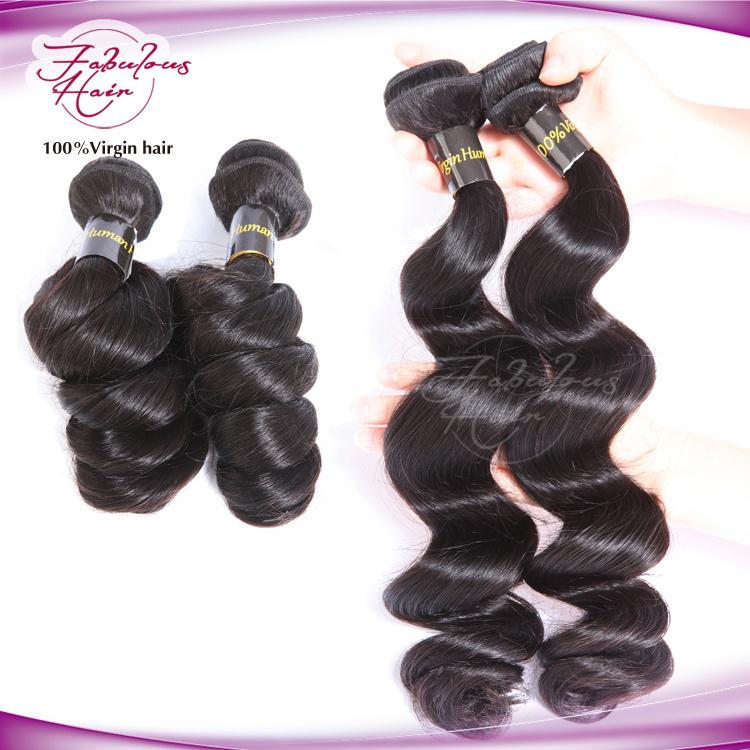 China Eurasian Body Wave Unprocessed Human Hair Kanekalon Braid