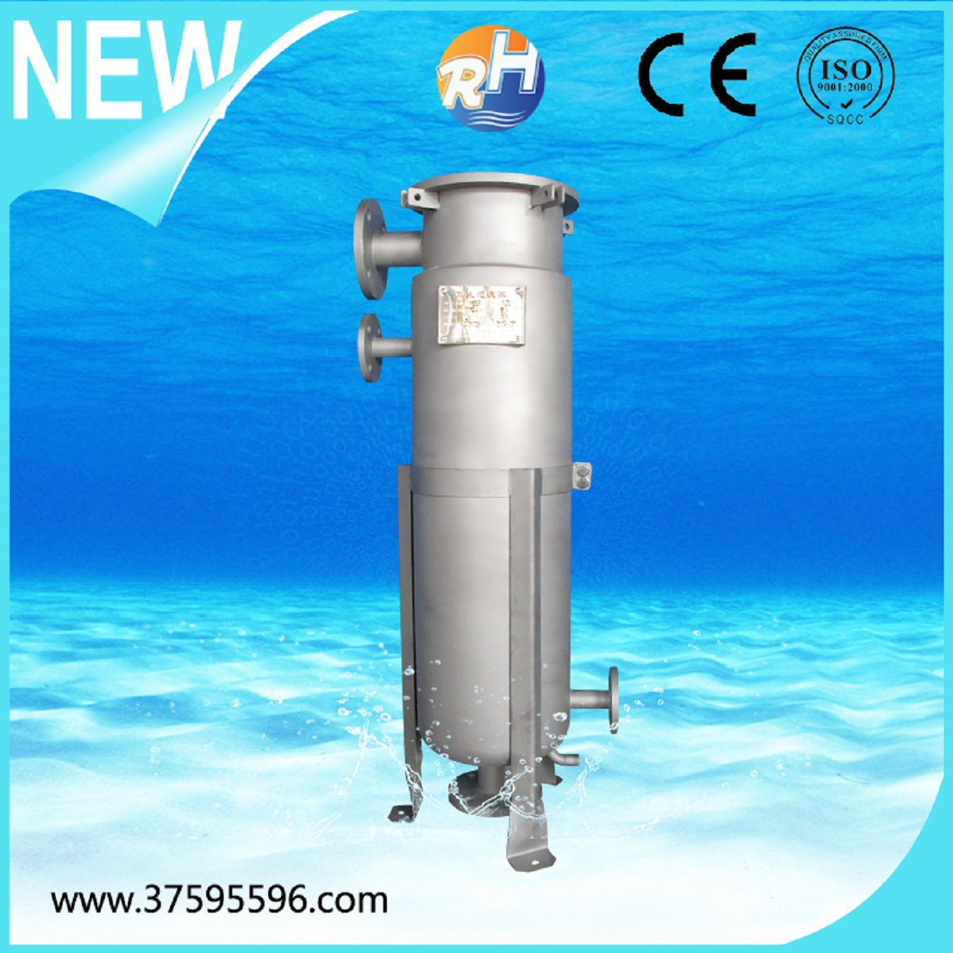 China Single Plate Type Bag Filter For Watertreatment Peco Fuel Filters