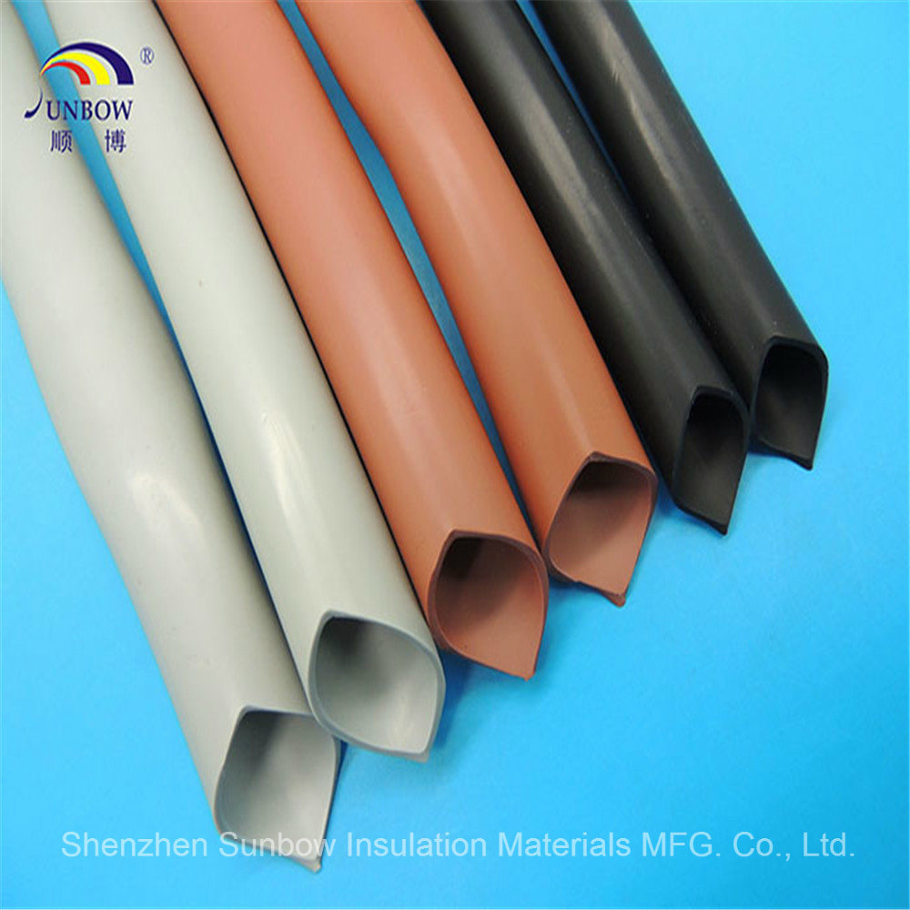 China Insulation Silicone Rubber Heat Shrink Tube For Wire Harness High Temp Wiring Tubing Heating Electric
