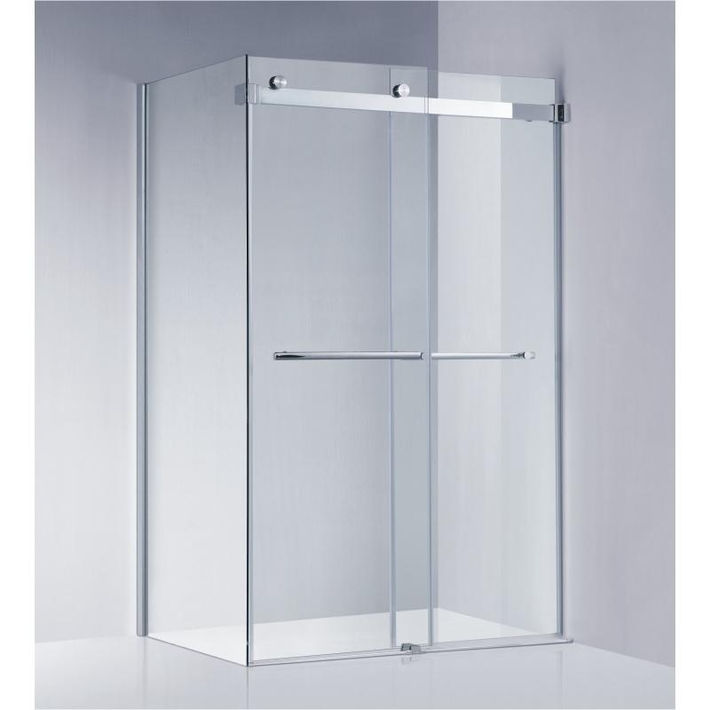 China American Standard Frameless Sliding Shower Enclosure/Shower ...