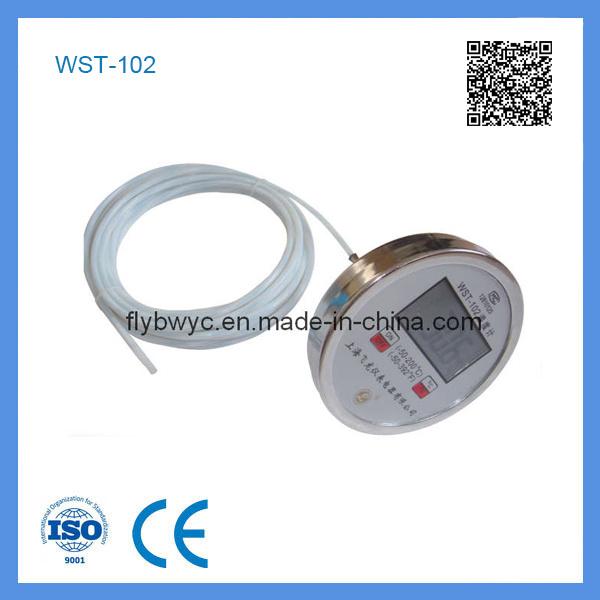 Wst-102 Digital Bimetallic Thermometer with Celsius/Fahrenheit Display