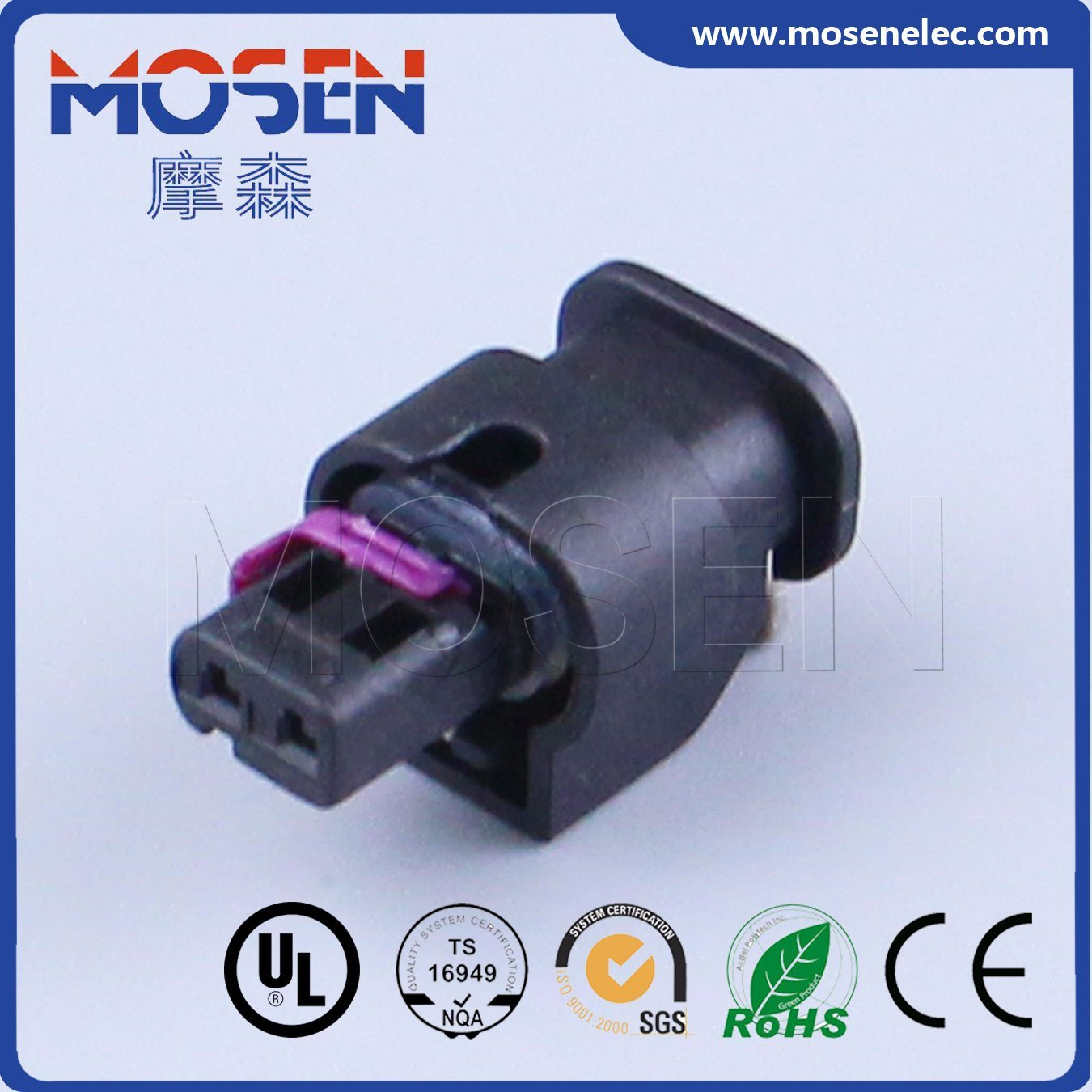 china te tyco nylon 2p ways 1 2mm female auto connector  1