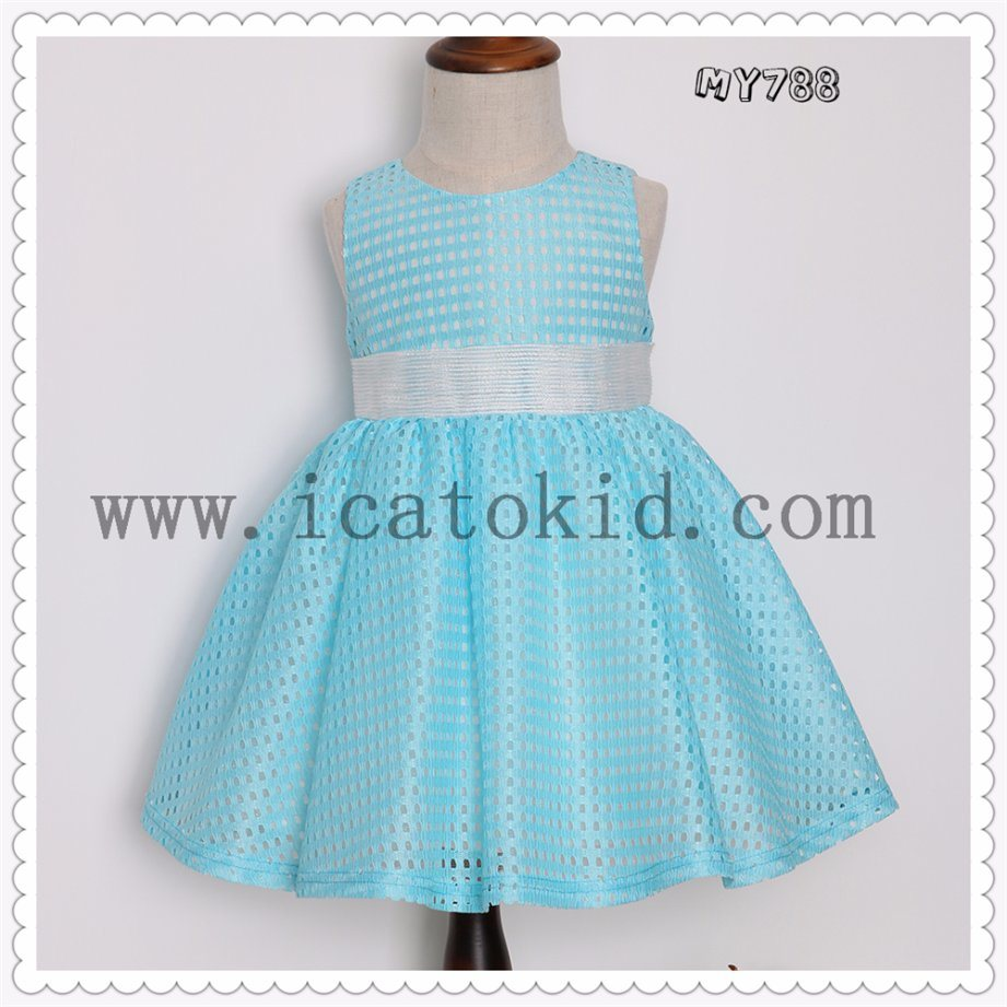 China Baby Girl′s Kids Princess Casual Party Dress Appliqued ...