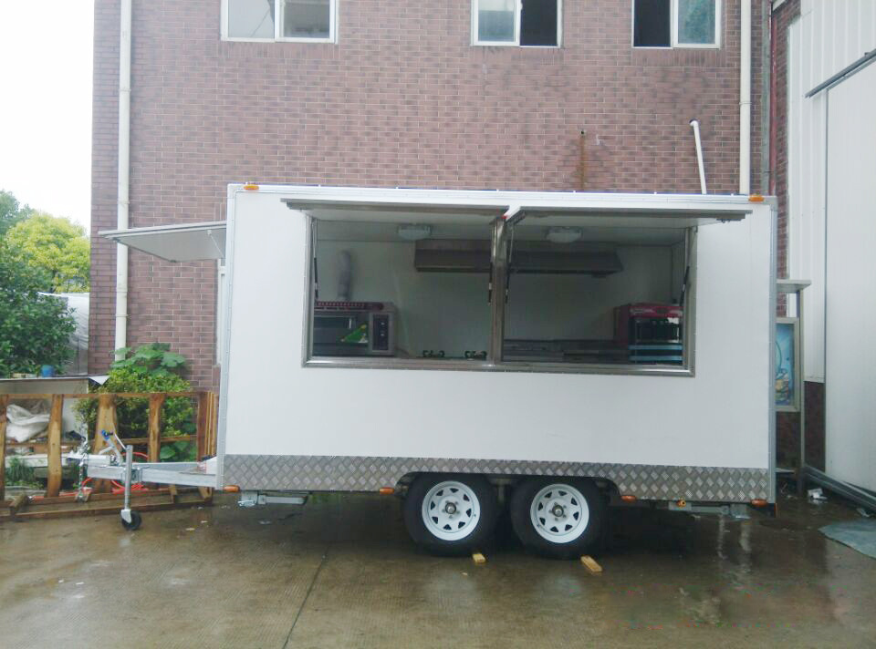 on Sale Mobile Food Cart, Electric Fast Food Truck