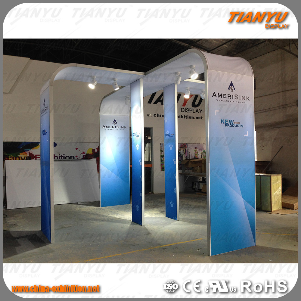 Exhibition Booth Backdrop : China tension fabric photo booth backdrop 3x3 exhibition booth