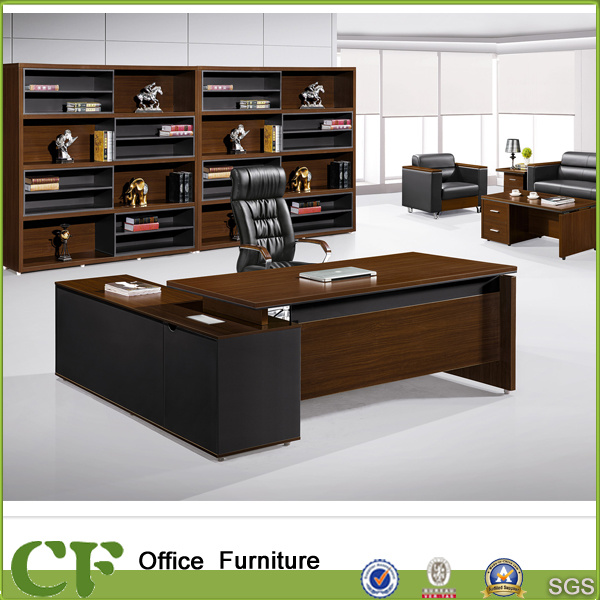 china factory mfc wooden furniture l shaped director ceo office desk rh chuangdafurniture en made in china com office furniture wooden desk office wooden furniture design