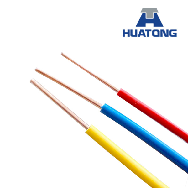 China Solid Copper Conductor PVC Insulated Single Core Wire - China ...
