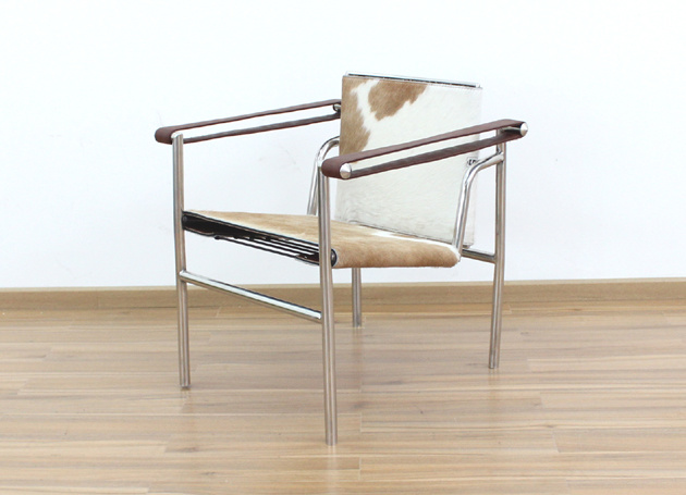 Basculant Chair Inspired by Le Corbusier (LC1)