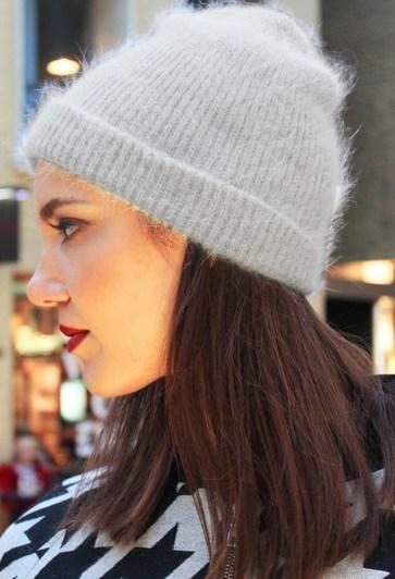 China Mohair Beanie Hat Winter Caps Unisex Warm Hats - China Beanie ... 4f301ae99ba