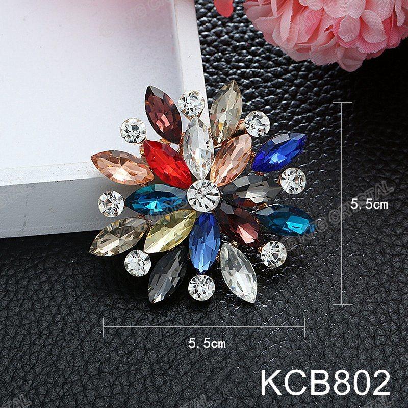 22c88079fdc6 Fashion Elegant Pearl Brooch for Women Handmade Custom Bridal Crystal  Brooch Jewels