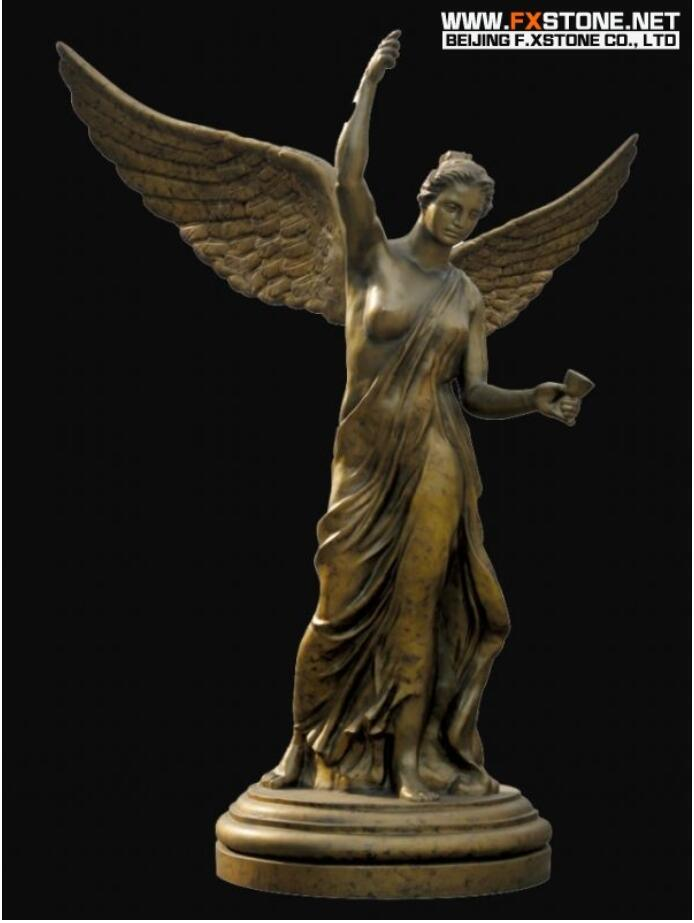 Art Figurine Bronze Sculpture for Decoration pictures & photos