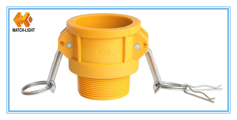 Nylon Injection Moulding Bpt Thread Cam and Groove Couplings
