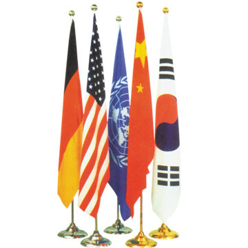China Indoor Flag Pole/Indoor Flag/Flag Pole Stand Photos & Pictures ...