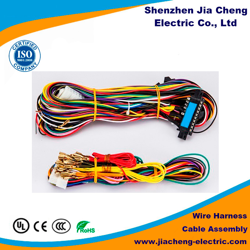 China Custom Made Automobile Wire Harness for Coaxial Cable ...