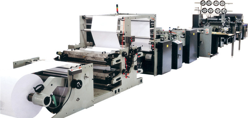 Fully Automatic Exercise Book Making Machine