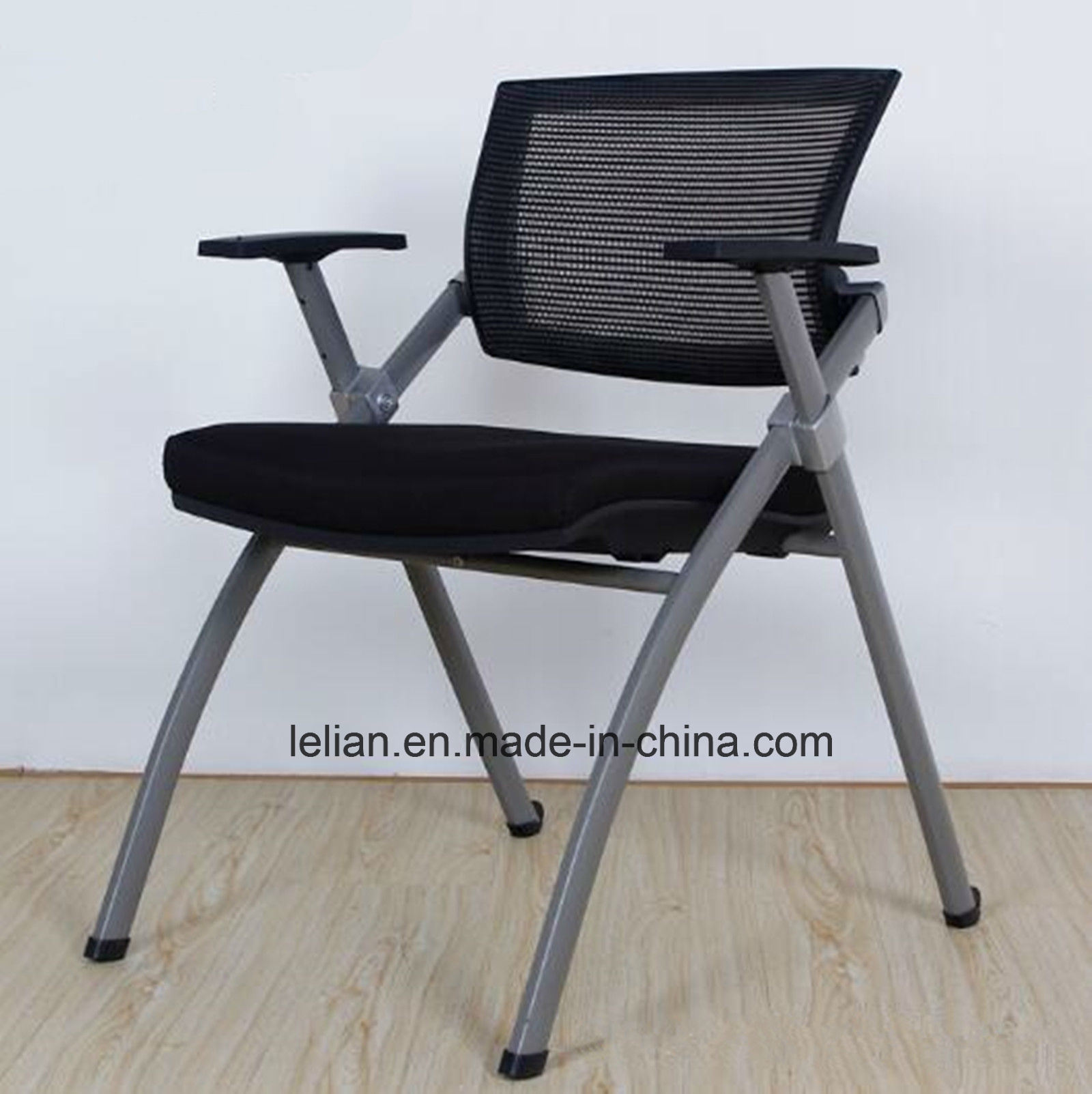 [Hot Item] High Quality Study Furniture Foldable Meeting Chair Office Chair  with Writing Board