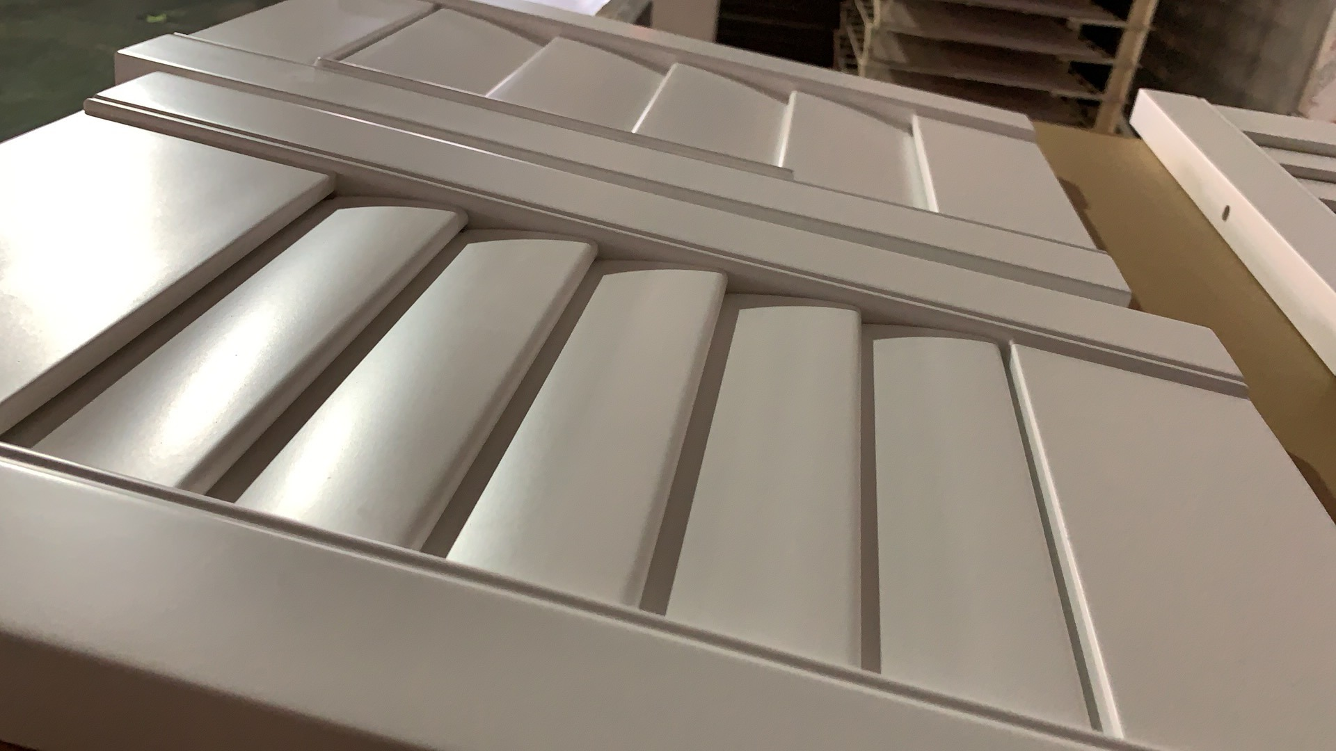 Hot Item Faux Louver Fixed Window With Pvc Shutter Design