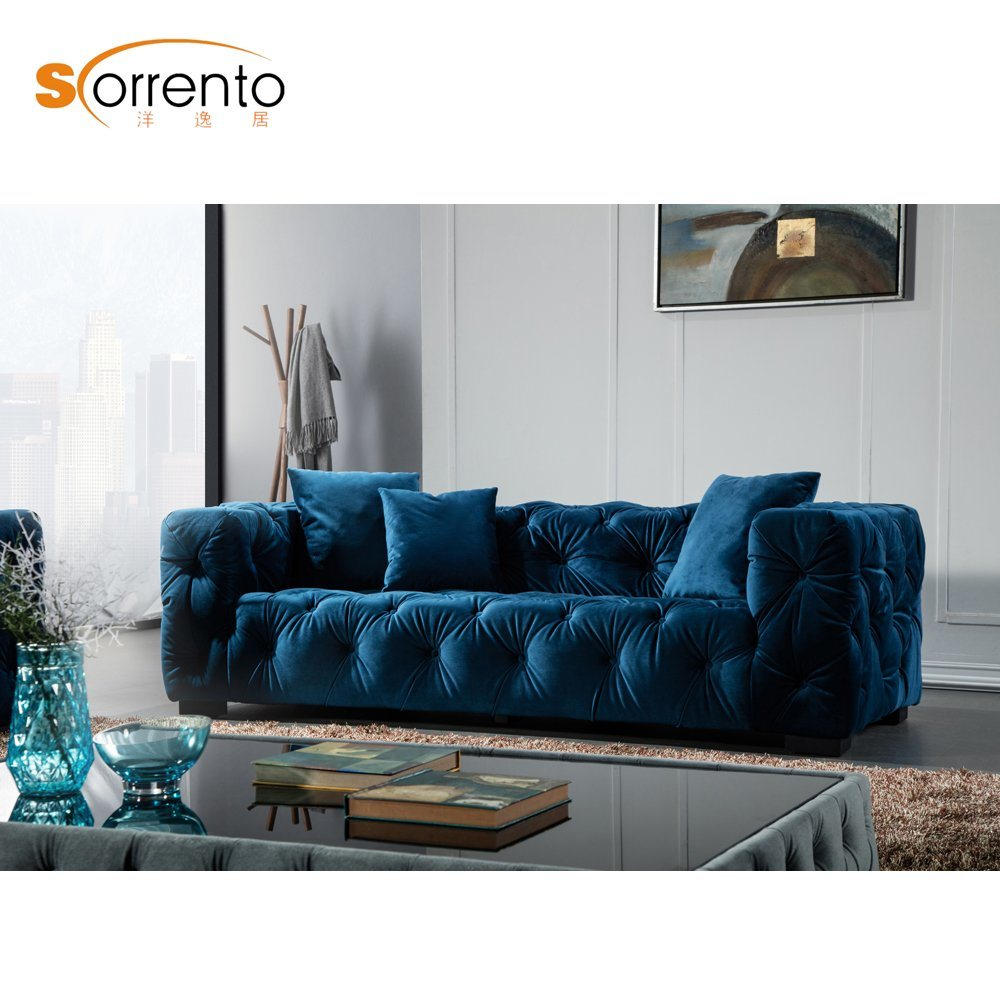 China 3 Seater Chesterfield Sofa In