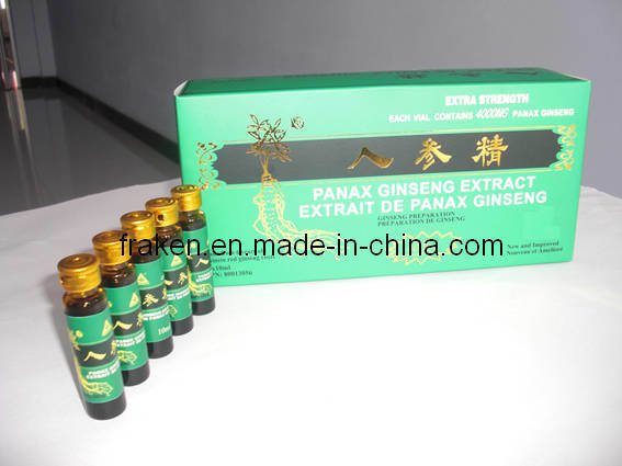 High Quality Panax Ginseng Extract Oral Liquid