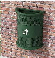 Hot Sale Outdoor Dustbin for Wall Mounted (DL56)