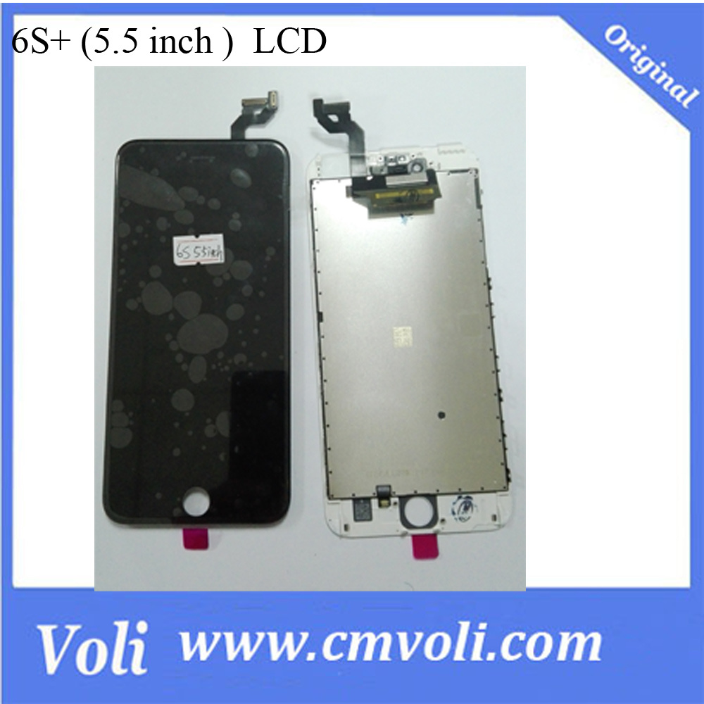 China Original And New Lcd Touchscreen For Iphone 6s Plus With 6 Frame Completely Black Display