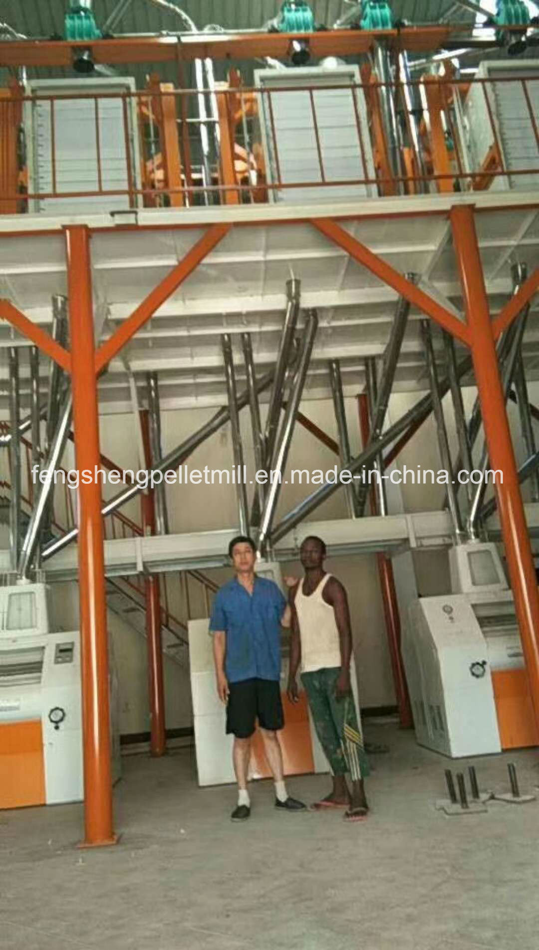 Africa Market Wheat Corn Maize Flour Mill Complete Line Flour Milling Machine pictures & photos
