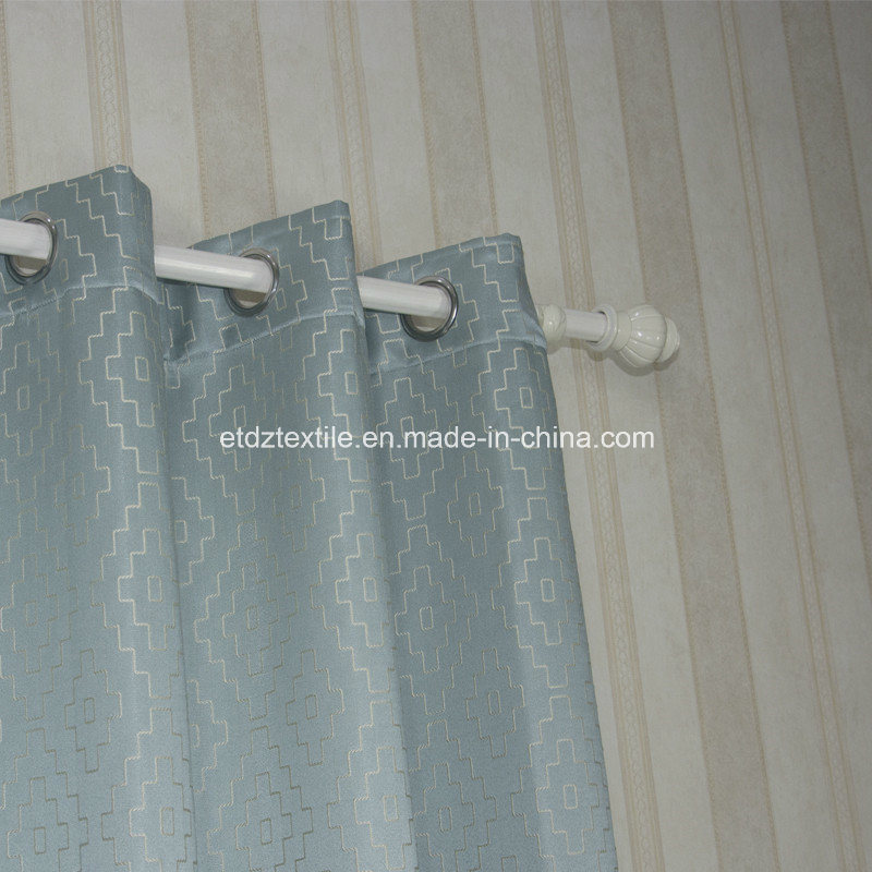100% Polyester Embroidery Like Jacquard New Pattern Window Fabric Curtain pictures & photos