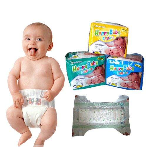 China Pampering Baby Diaper (happy baby 10 PCS a bag) - China Happy Baby  Diaper and Haggies Baby Diaper price