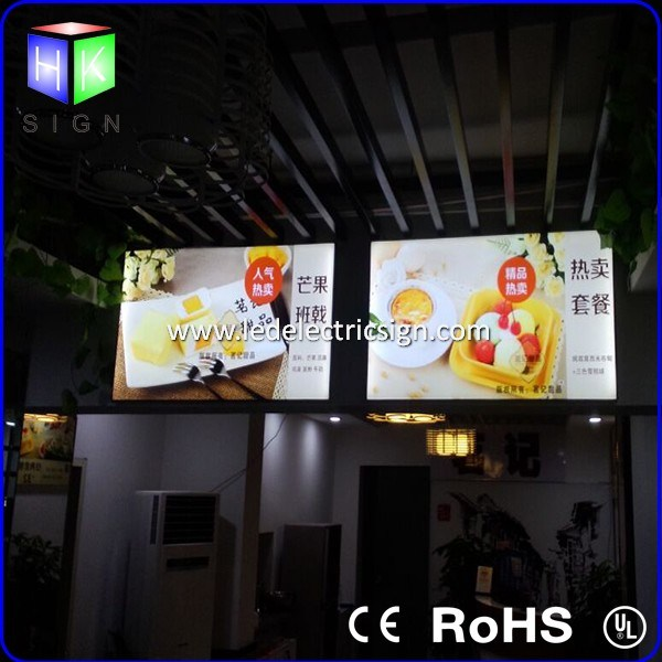 Aluminum Picture Frame for Menu Board with Light Guide Plate pictures & photos