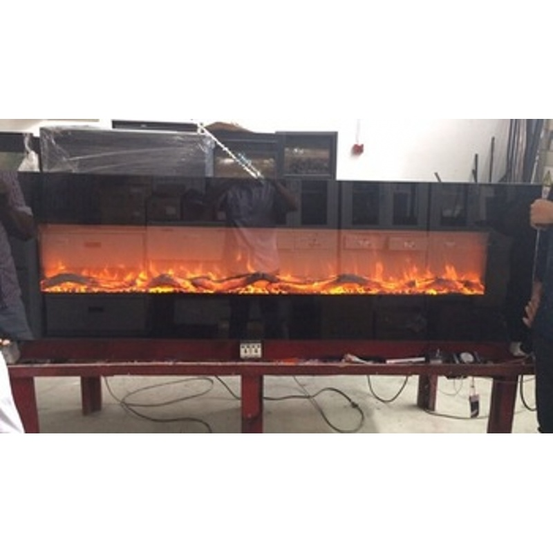 China 80 Inch Wall Hanging Or Mounted Crofton Electric Fireplace Heater