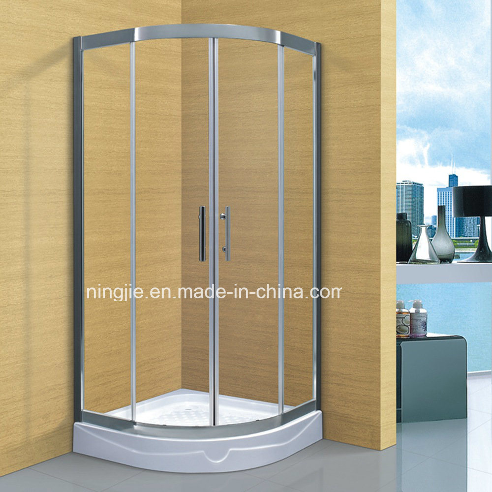 China New 304stainless Steel Frame Temper Glass Shower Cubicle (A ...