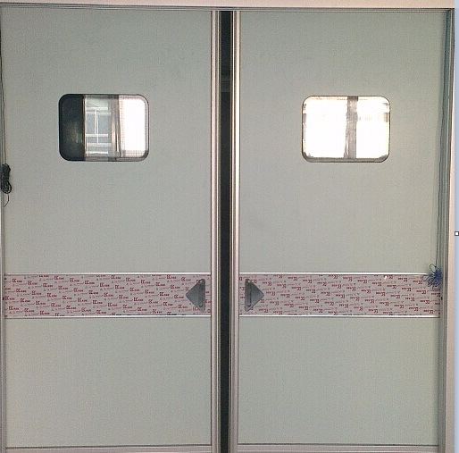 Silver Gray Automatic Airtight Door & China Silver Gray Automatic Airtight Door - China Automatic Airtight ...