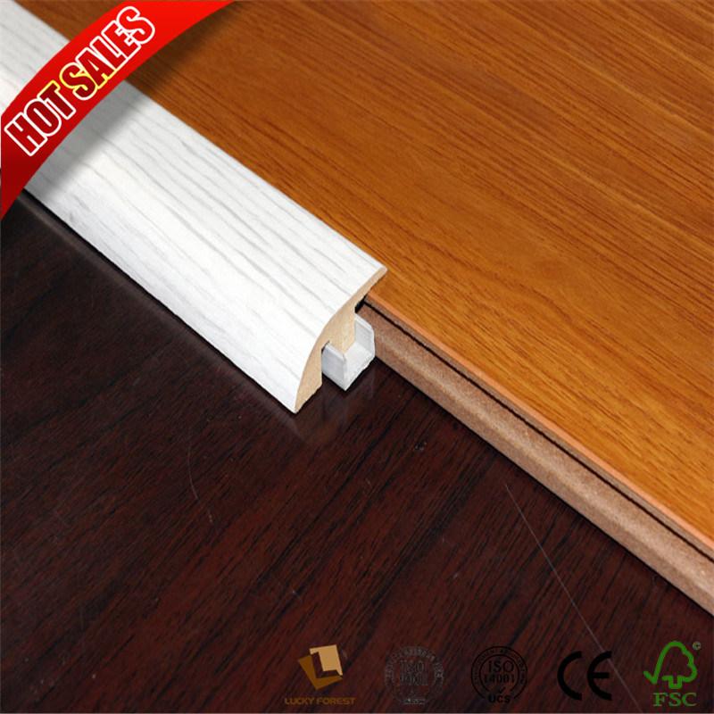 60mm Mdf Laminate Flooring Accessories Skirting Wallboard Baseboard