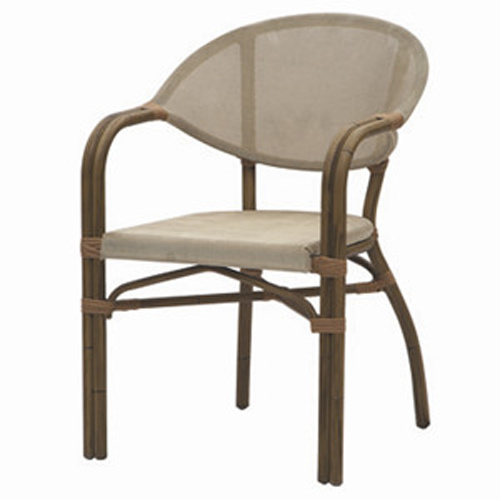 china outdoor textilene french bistro leisure cafe chair tc 08018