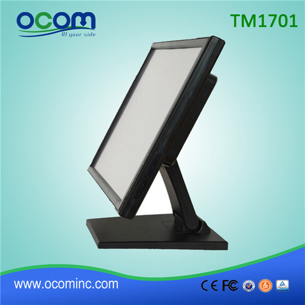 TM1701 Cheap Flexible LCD Desktop Touch Screen Display Monitor pictures & photos