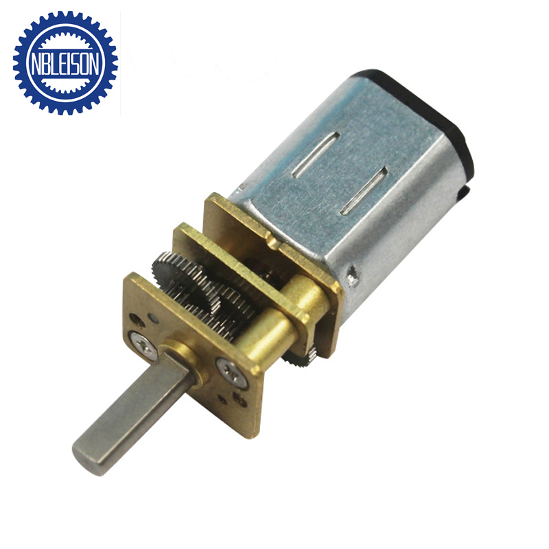 China 12mm 3v 4 5v 6v 12v N20 Dc Mini Gear Motor