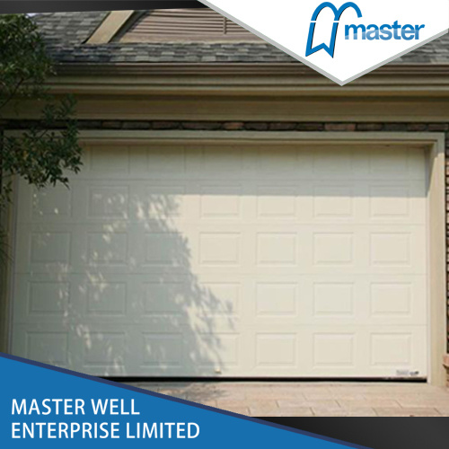 Remote Control Wood Used Canvas Insulated Garage Doors with Small Doors Sales