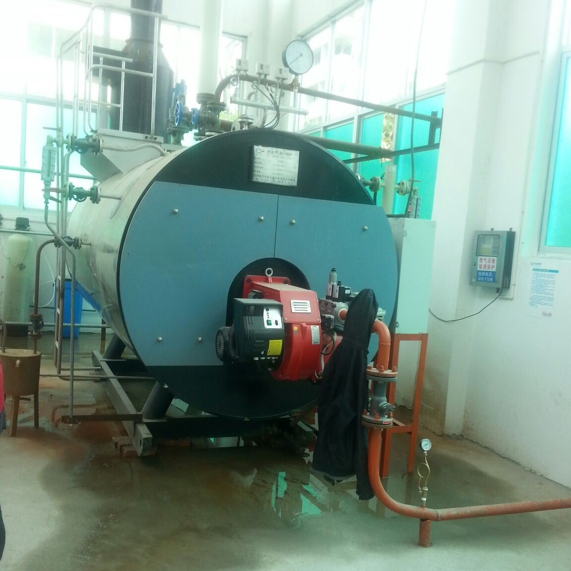 China Fuel Oil Fired Small Steam Boiler in Food Machinery Industry ...