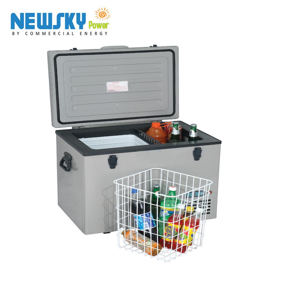 [Hot Item] 12V DC Compressor Portable Solar Car Fridge Freezer