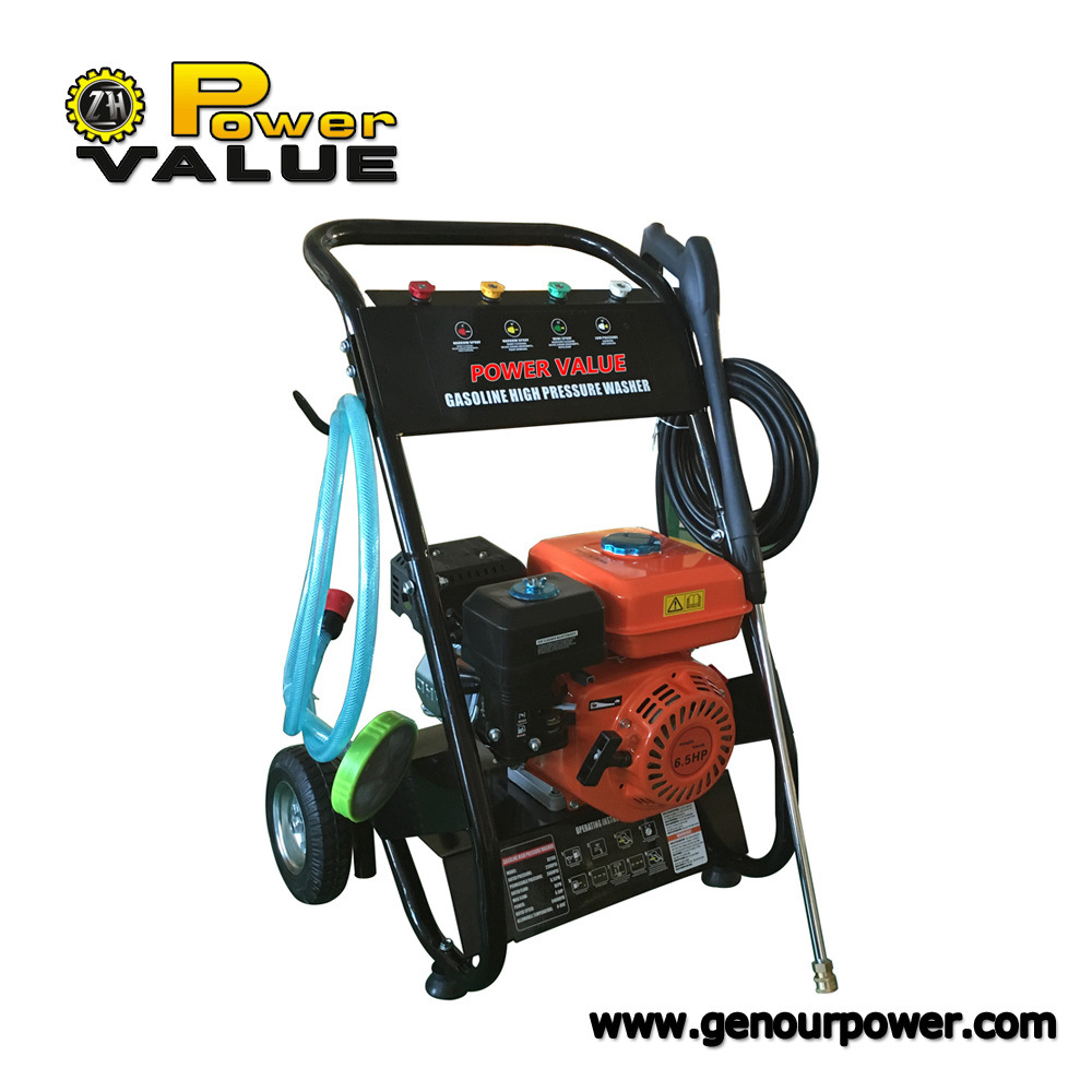 China Portable High Pressure Car Washer Electric Petrol Power Jet
