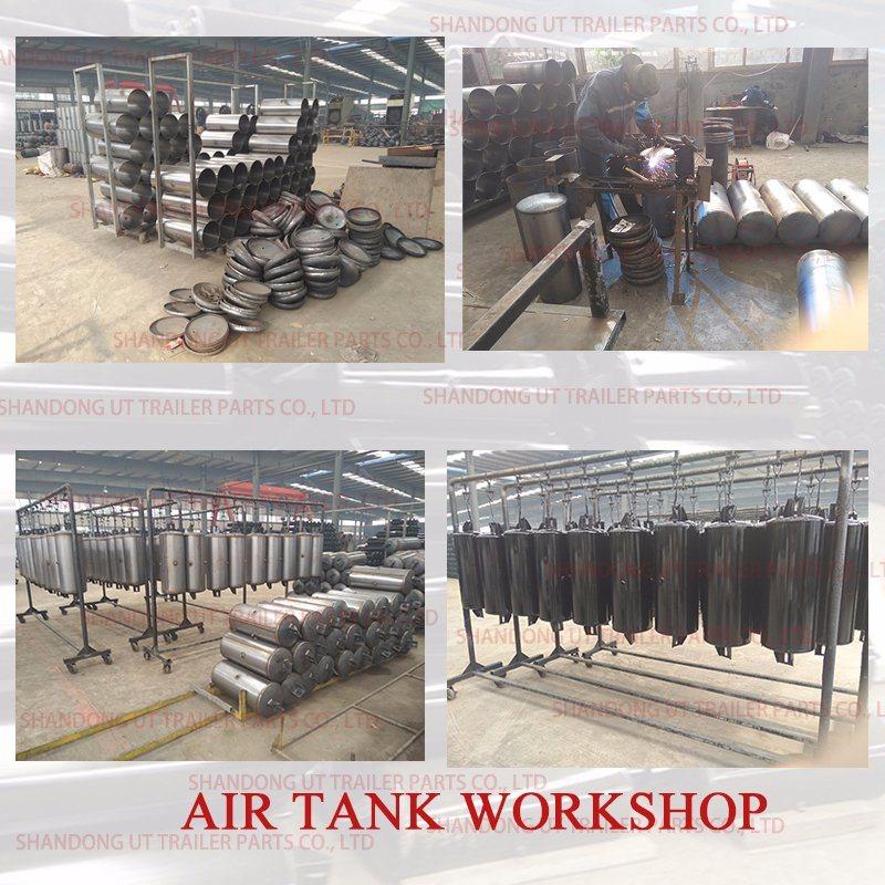 China Truck and Trailer Air Brake System Steel Air Tank/Air
