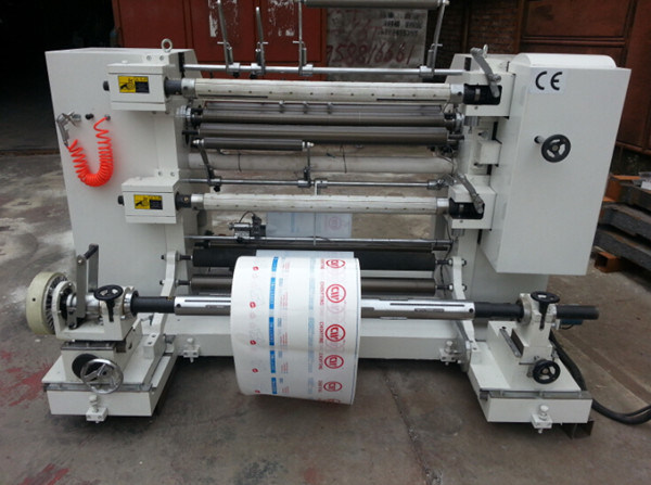 Automatic Vertical Slitting and Rewinding Machine