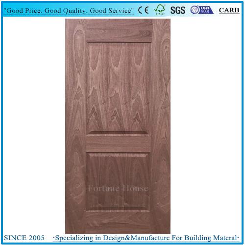 Interior HDF MDF Laminated Veneer Door Skin Supplier
