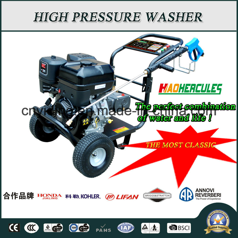 15HP Lifan/Shineray/Kohler/Honda/BS Gasoline Engine 275bar Pressure Washer (HPW-QP1500L)