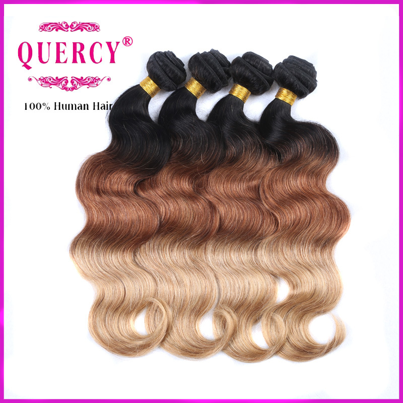 China 3 Color Top Quality 100 Virgin Peruvian Human Remy Hair For