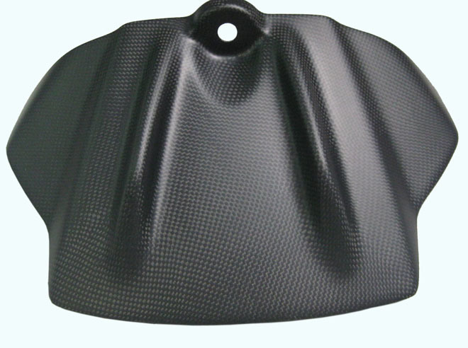 Carbon Fiber Motorcycle Parts Matt Finishing