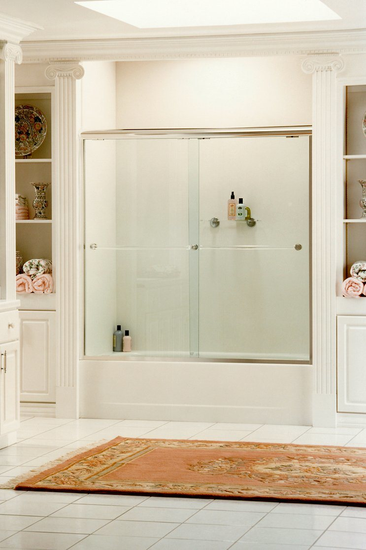 Hot Item 8 12mm Clear Acid Etched Glass Frosted Glass Decorative Glass Bathroom Glass Door Glass Tempered Glass Safety Glass With Single Side Or