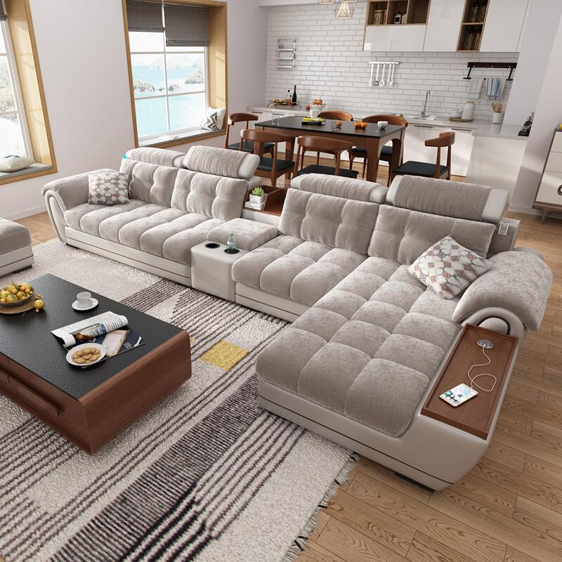 china home furniture hot selling modern leisure l shape