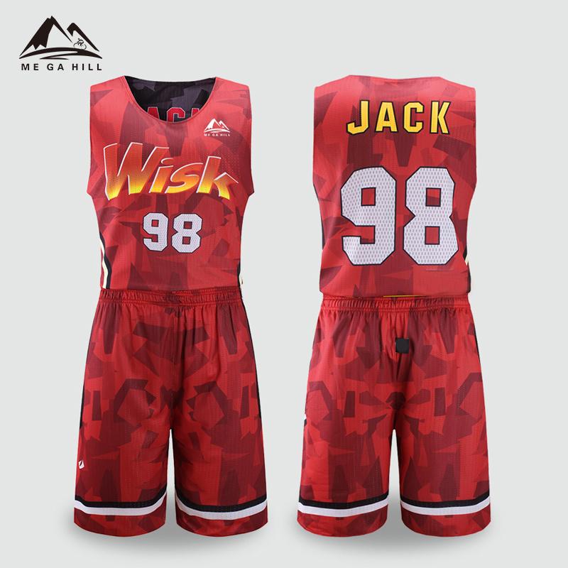 China Custom Pink Gray Color Design Women Football Basketball Jersey